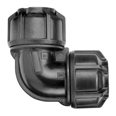 poly metric elbow fitting