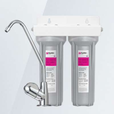 Puretec Twin Undersink Filter System with Pressure Limiting Valve